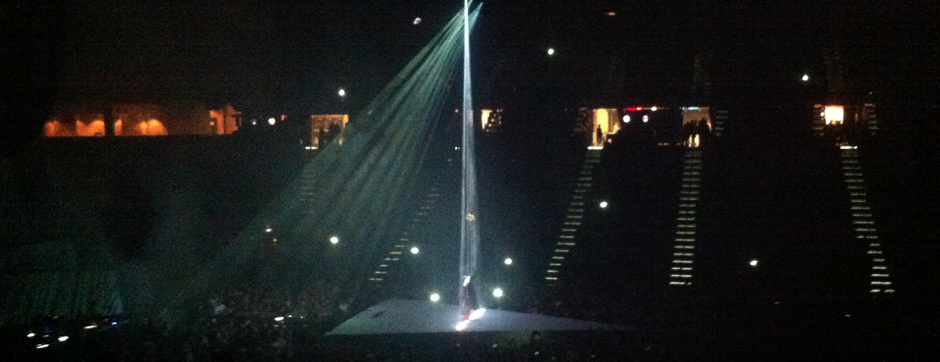 Kanye West at MGM Grand Garden Arena