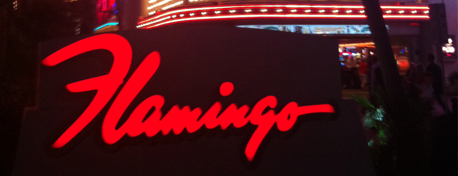 flamingo sign